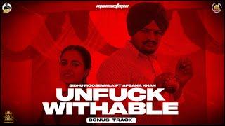 UNFUCKWITHABLE (Official Video) Sidhu Moose Wala   Afsana Khan   MooseTape   The Kidd   Bonus Track