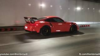 Cường Đô La Chở Subeo Trên Xe Đua Porsche 911 GT3RS Quẫy Nát Hầm Thủ Thiêm