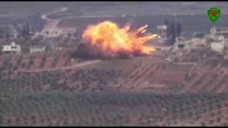 Уничтожение курдами с помощью ПТРК