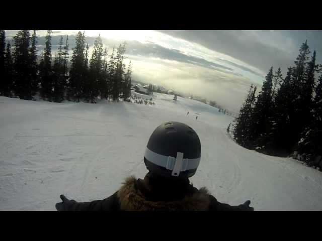 GoPro Backpack Mount @Hafjell, Norway