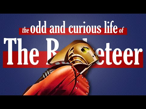 the odd and curious life of The Rocketeer