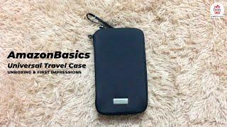 AmazonBasics Universal Travel Case | Unboxing & First Impressions
