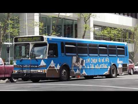 DENVER RTD BUS VIDEO COMPILATION