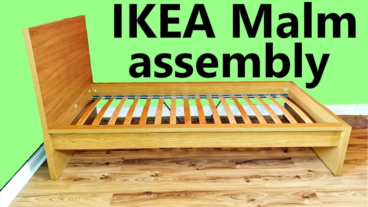 Ikea Malm Single Bed Assembly Youtube,Pink Paint Color For Bedroom Walls