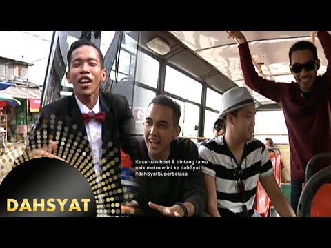 Dede Jadi Supir Metro mini Bersama ''Lyla'' [Dahsyat] [5 April 2016]