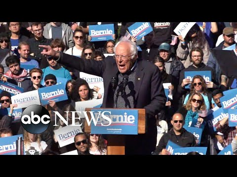 Sen. Bernie Sanders returns to campaign trail after heart attack | ABC News