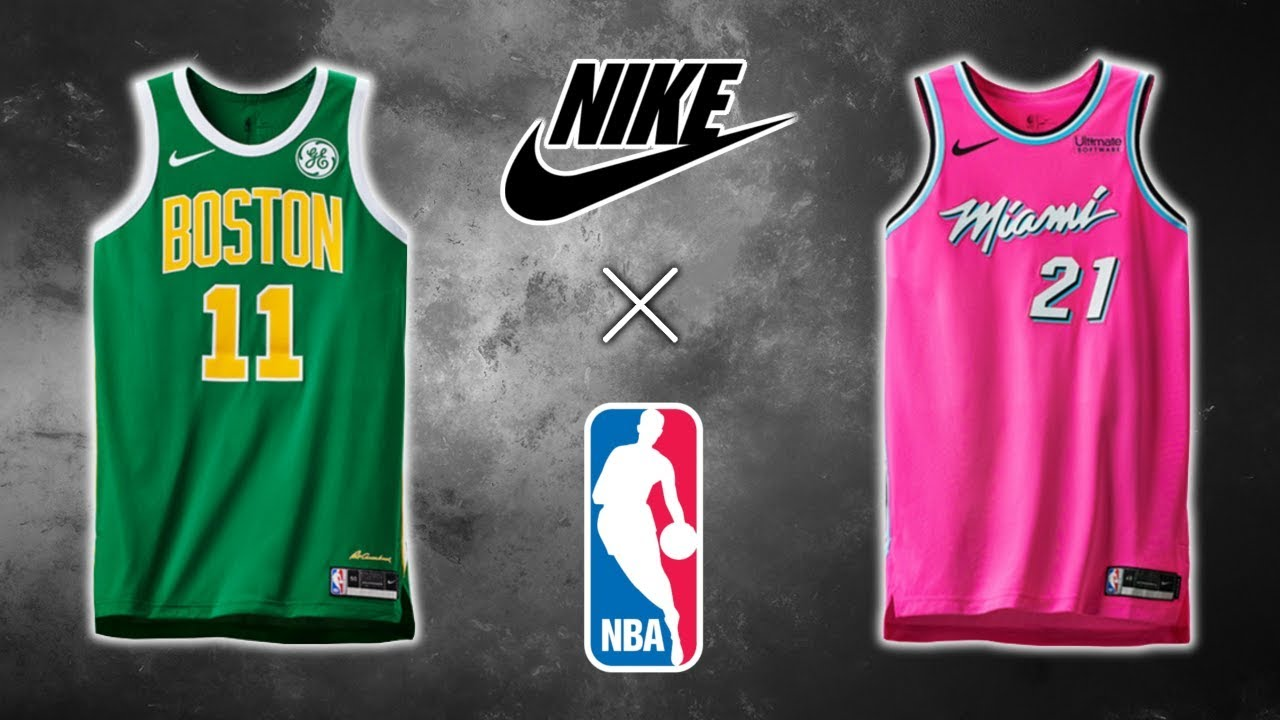 misericordia nariz ola  All NBA Nike Earned Edition Jerseys (2018) - YouTube
