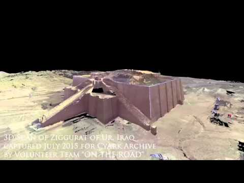 Ziggurat of Ur, 3D Animation