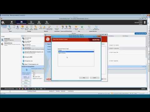 Backup Exec 16 Central Admin Server Option