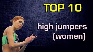 Top 10 best female high jumpers of all time