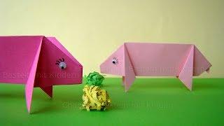 Baixar Origami: Schwein basteln mit Kindern - Einfache Bastelideen mit Papier für Kinder