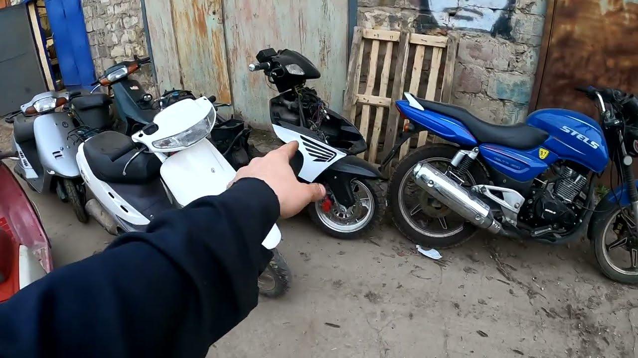 Собрал два ретро скутера! Рабочий день #6