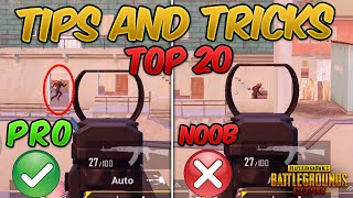Top 20 Tips & Tricks in PUBG Mobile that Everyone Should Know (From NOOB TO PRO) Guide #4