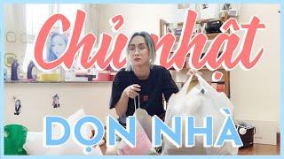 DỌN NHÀ CHỦ NHẬT CÙNG WITCH | SUNDAY CLEANING MY ROOM | HƯƠNG WITCH