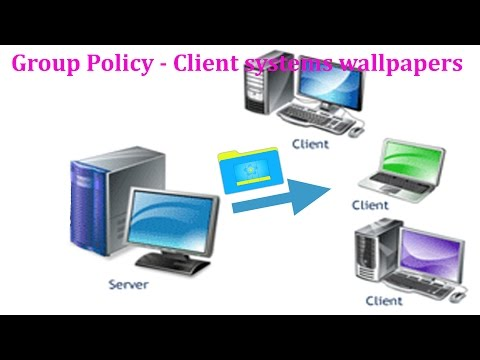 Server 2008 R2 - How to change client system background using group policy in windows server 2008 R2