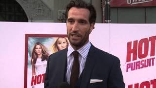 Hot Pursuit: Matthew Del Negro Exclusive Red Carpet Interview | ScreenSlam