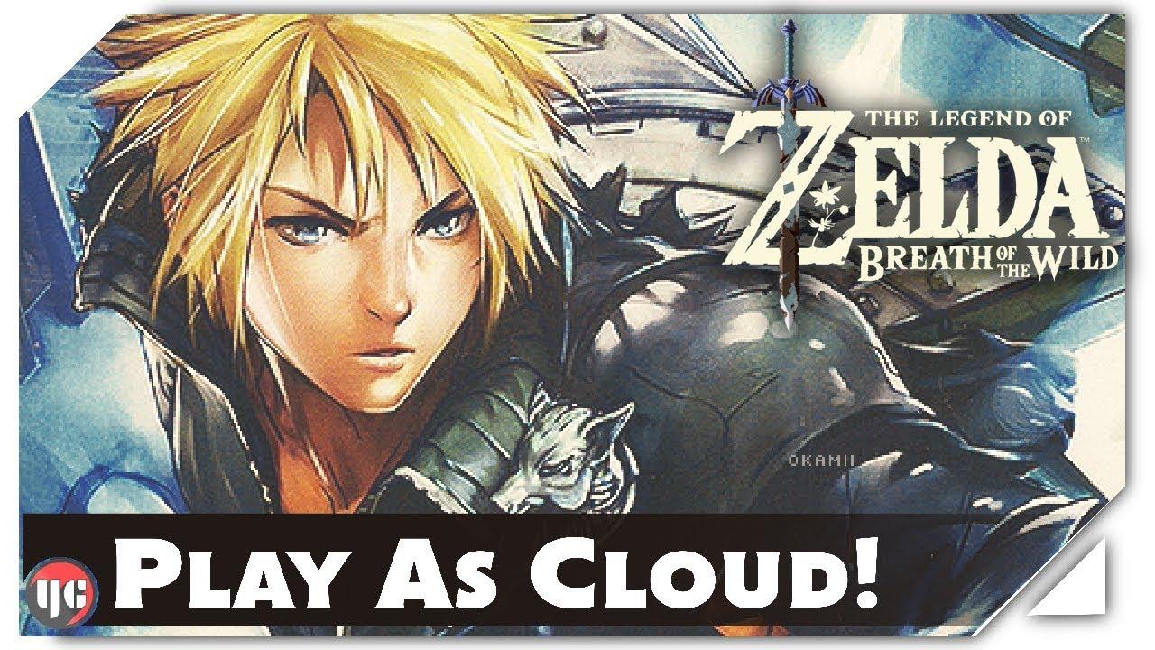 Zelda: Breath of the Wild Mod Adds Final Fantasy 7's Cloud