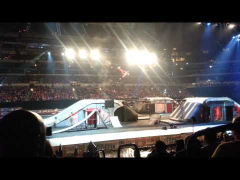 Nuclear Cowboyz at Lucas Oil Stadium Indianapolis 2014 - Jumps, Lights, Fire