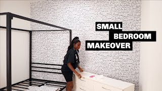 My Sister Moved In With Me & I Decorated Her Room | Room Makeover | Shalom Blac