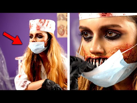6 Scary Halloween Makeup and DIY Costume Ideas thumbnail