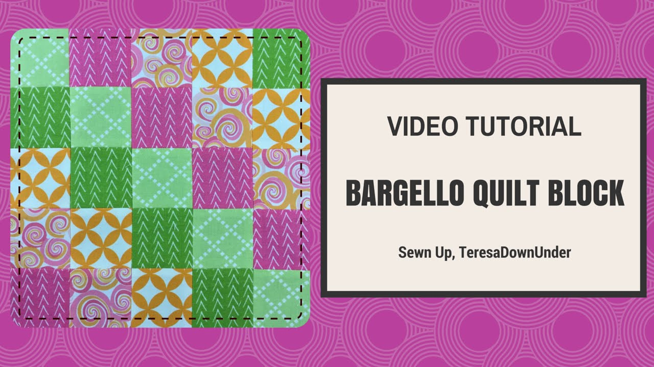 Video tutorial: Quick and easy bargello quilt block | Sewn Up
