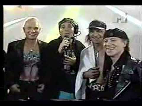 Scorpions Interview - Skol Rock 1997 - São Paulo