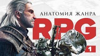 Анатомия жанра ролевых игр / Что такое RPG? Часть 1