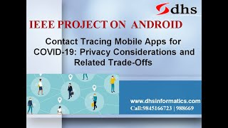 IEEE_2020_Contact Tracing Mobile Apps for COVID-19: Privacy Consideration & Related Trade-Offs