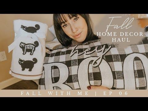 FALL HOME DECOR HAUL | Home Goods, World Market, Target!