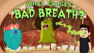 What Causes Bad Breath? | The Dr. Binocs Show | Best Learning Videos For Kids | Peekaboo Kidz