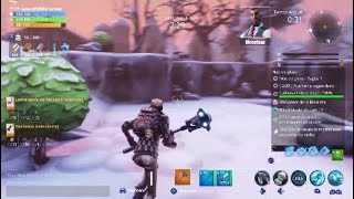 Fortnite The Thing Caught in ice Fortnite Save the World Fr PS4