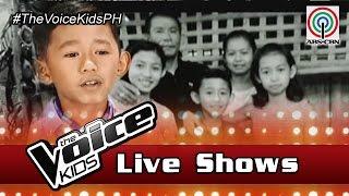 The Voice Kids Philippines 2016 Live Semi-Finals: Joshua of Team Lea Journey