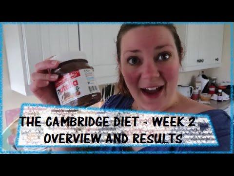 2 week diet results