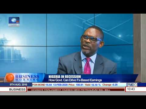 Business Morning: Strategies To Drive Fx Based Earnings To Aid Nigeria's Economy Pt.2