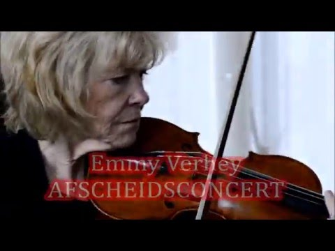 Emmy Verhey afscheidsconcert november 2015 Ruurlo