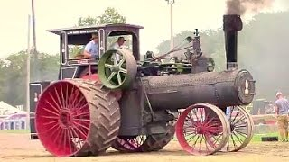 Case Tractors at Historic Farm Days