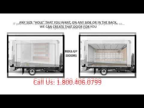 cargo commercial box truck repair 1-800-406-0799  mobile body shop spring repair