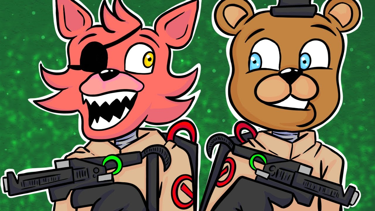Animatronic Ghostbusters! Minecraft FNAF Roleplay