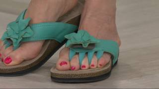 Wellrox Floral Embellished Sandals - Chloe on QVC