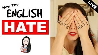 Express Hate in English! Learn Feelings Vocabulary  (Live Lesson)
