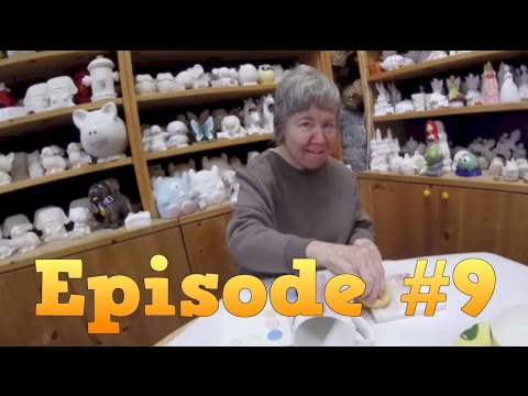 Episode #9 - Yep! We painted pottery - Mother and Son's Journey with Dementia