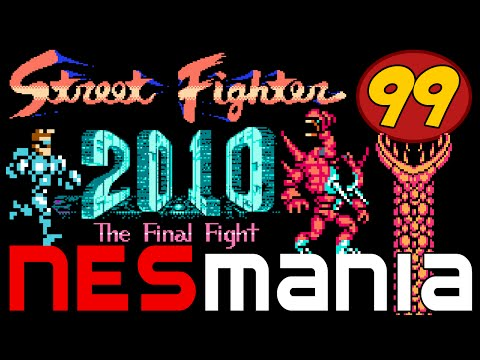 99/714 Street Fighter 2010: The Final Fight - NESMania
