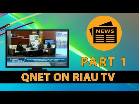 TALKSHOW TV QNET INDONESIA, RIAU TV, 12 APRIL 2016 [Part 1]