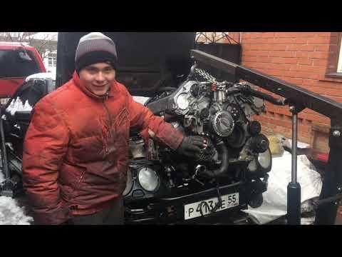 Мерседес w210 замена двигателя