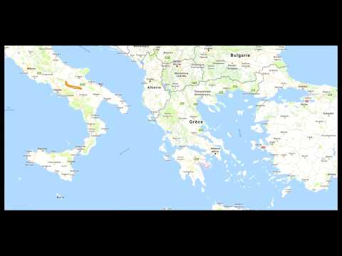How to reach Nafplio from Athens Airport by train & bus ?