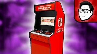 Full-Size Nintendo Switch Arcade Cabinet Dock - DIY!