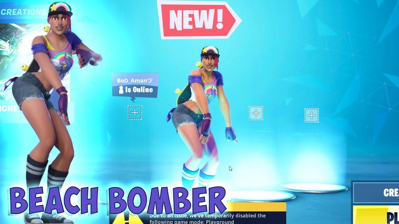 Beach bomber fortnite