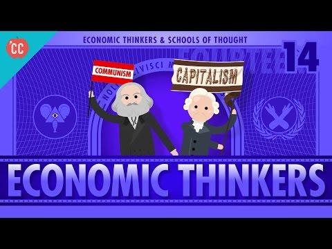 Economic Schools Of Thought Crash Course Economics