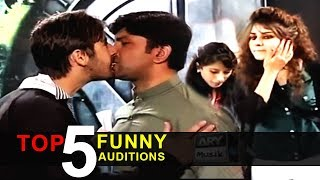 Top 5 FUNNY AUDITIONS | Living On The Edge | Waqar Zaka