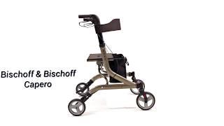Produktvideo zu Leichtgewicht-Rollator Bischoff & Bischoff Capero Platin